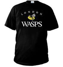 T-SHIRT LONDON WASPS RUGBY maglia all blacks italia felpa maglietta polo