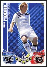 Luka Modric #284 Topps Match Attax Tottenham Tarjeta de fútbol 2010-11 (C602)