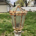 Epic Cast Iron Victorian Boathouse Lantern