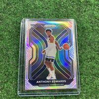 2020-21 Panini Prizm Basketball Silver Anthony Edwards Rookie Rc Timberwolves