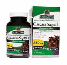 Cascara Sagrada, Full Spectrum Herb, 850 mg, 90 Veggie Caps - Nature's Answer