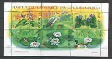 Moldova 2008 Flowers 3 MNH stamps Sheet