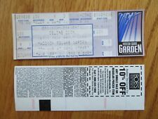 Unused Celine Dion September 3, 1998 Madison Square Garden Ticket
