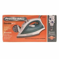 Proctor Silex Durable Non-Stick Iron with Adjustable Steam 17291R - NEW in BOX