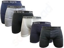 Para hombres Moda Suave Algodón Jersey Boxer Troncos Corto Sport Clásico Todas las Tallas