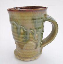 Stoneware Tall Tea Coffee Mug - Autumn AJ Handmade Steve Woodhead Ceramics