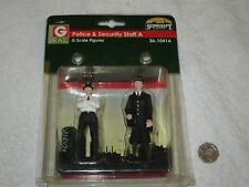 NEW BACHMANN G RAILPOLICE & SECURITY STAFF A - G SCALE  36-1041A