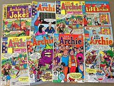 8 LIFE WITH Archie Comics JOKE BOOK Betty Veronica JUGHEAD  (LOT B20)