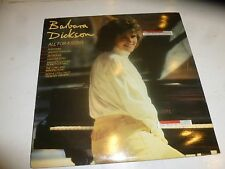 BARBARA DICKSON - All For A Song - 1982 UK 12-track Vinyl LP