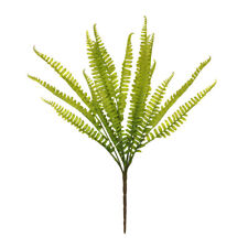 Fern Artificial Bush Green 17 Fronds 47cm/18 Inches