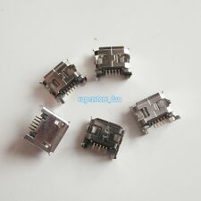 10X Micro USB Type B Female 5 Long Pin DIP Socket Connector 4 Right Angle Legs