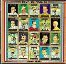 MANAMA-TOUR DE FRANCE-CYCLISME-1 BF neuf dentelé