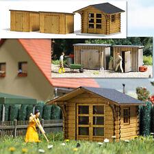 Busch 1529 Maison de jardin & HANGAR H0 # Neuf Emballage d'ORIGINE #