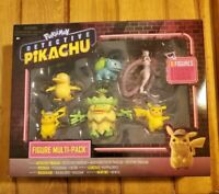 POKEMON Detective Pikachu Multi-Pack (6 Mini Figures) Brand New! FREE SHIPPING !