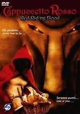 CAPPUCCETTO ROSSO - RED RIDING HOOD  DVD HORROR