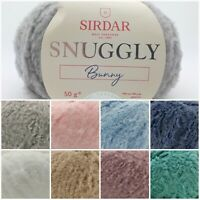 Sirdar Snuggly BUNNY Nylon fluffy Baby Knitting Wool Yarn 50g Ball