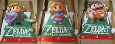 The Legend of Zelda Link's Awakening 3 Stand Standee Merchandise Nintendo Switch