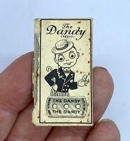 Vintage Paper Wrapper for Double Edge THE DANDY Razor Blade Gillette Inside YIMG