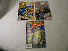 X-Men Annual Issues #1 -3 Marvel Comics 1992, 1993, 1994