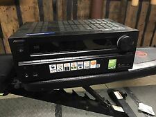ONKYO TX-NR616 THX HDMI Ethernet 7.2 Channel Wide Range Amplifier AV Receiver