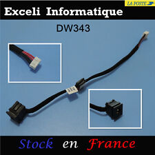 CONECTOR DC JACK TOSHIBA Satellite L650, L650d, M115 (With cable) avec harness
