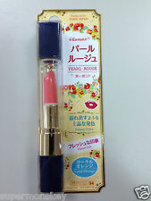 Daiso Japan Pearl Rouge Lipstick 3g Coral Orange Made In Taiwan