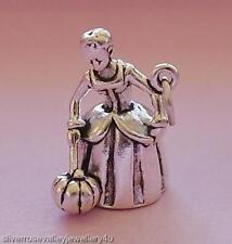 Fairy Godmother Charm Pendant STERLING SILVER