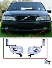 FRONT BUMPER FOG LIGHT LAMP PAIR RIGHT LEFT COMPATIBLE WITH VOLVO S70/V70 96-01