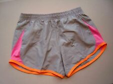NIKE Girl's (Youth) Gray 5K Tempo Running Shorts Style #716734 - NEW Size M