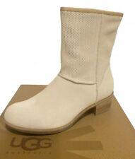UGG Australia CYRINDA PERF Boots Cream US 7 /EUR 38 /UK 5.5 -New!