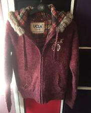BN UNiversity Of Los Angeles Red Hooded Jacket S
