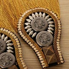 Board Mark Costume Brooch Badges 2 Pairs Men's Tassel Epaulette Shoulder