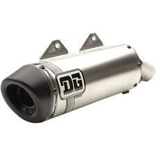DG Performance V2 Slip-On Muffler Aluminum Stainless Steel 071-4204 1821-1679