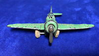 "Vintage Barclay BA7a Army Airplane Original 1940's 3 5/8"" Wing Span"