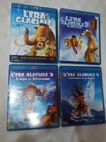 L'ERA GLACIALE 1-2-3-4 -QUADRILOGIA FILM in BLU-RAY -visita COMPRO FUMETTI SHOP