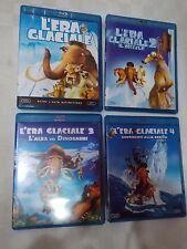 L'ERA GLACIALE 1-2-3-4 -QUADRILOGIA FILM in BLU-RAY -visita COMPRO FUMETTI SHOP