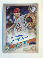 2018 Topps Gypsy Queen Parker Bridwell Rookie On Card Autograph Auto Angels RC