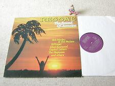 REGGAE - THE SOUND OF JAMAICA GER LP BELLAPHON, MARLEY HEPTONES CAPITAL LETTERS
