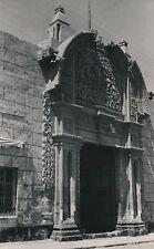 AREQUIPA c.1940 - Portail Sculpté Maison Coloniale- Ph. R. d'Harcourt - DIV 9955