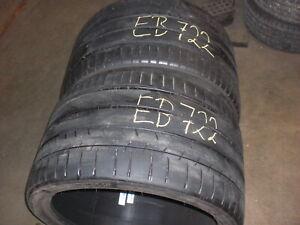Michelin Super Sport ZP  2 x 335 /25  ZR 20 99Y  Sommerreifen gebraucht