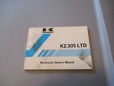 OEM Kawasaki Owners Manual 1988 KZ 305 KZ305 LTD 99920-1415-01