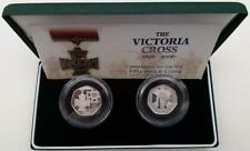 2006 Victoria Cross 50p Coin Set Silver Proof Cased With COA (2)