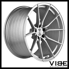 "19"" VERTINI RF1.2 SILVER FORGED CONCAVE WHEELS RIMS FITS ACURA TL"
