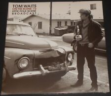 TOM WAITS on the scene '73 UK 2-LP new sealed GATEFOLD COVER radio broadcast