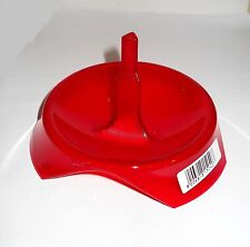 BOTTLE DRAINER RED COUNTER TOP VERY HANDY SINGLE BOTTLE TYPE