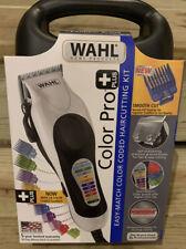 Wahl Color Pro Plus Haircut Clipper Kit - Black/Silver