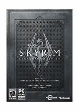 The Elder Scrolls V: Skyrim Legendary Edition - PC Disc Free Shipping