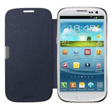 Flip Cover Tasche Samsung Galaxy S3 Neo i9301 Schutz Hülle Case Blau