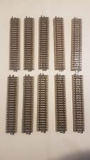 5106 : Lot de 10 rails droits Märklin HO Voie M (PK16)