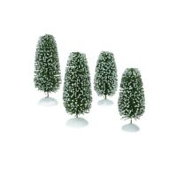 Department 56 Village Accessories Wonderland Shrubs, Medium, Set of 4 (4025361)